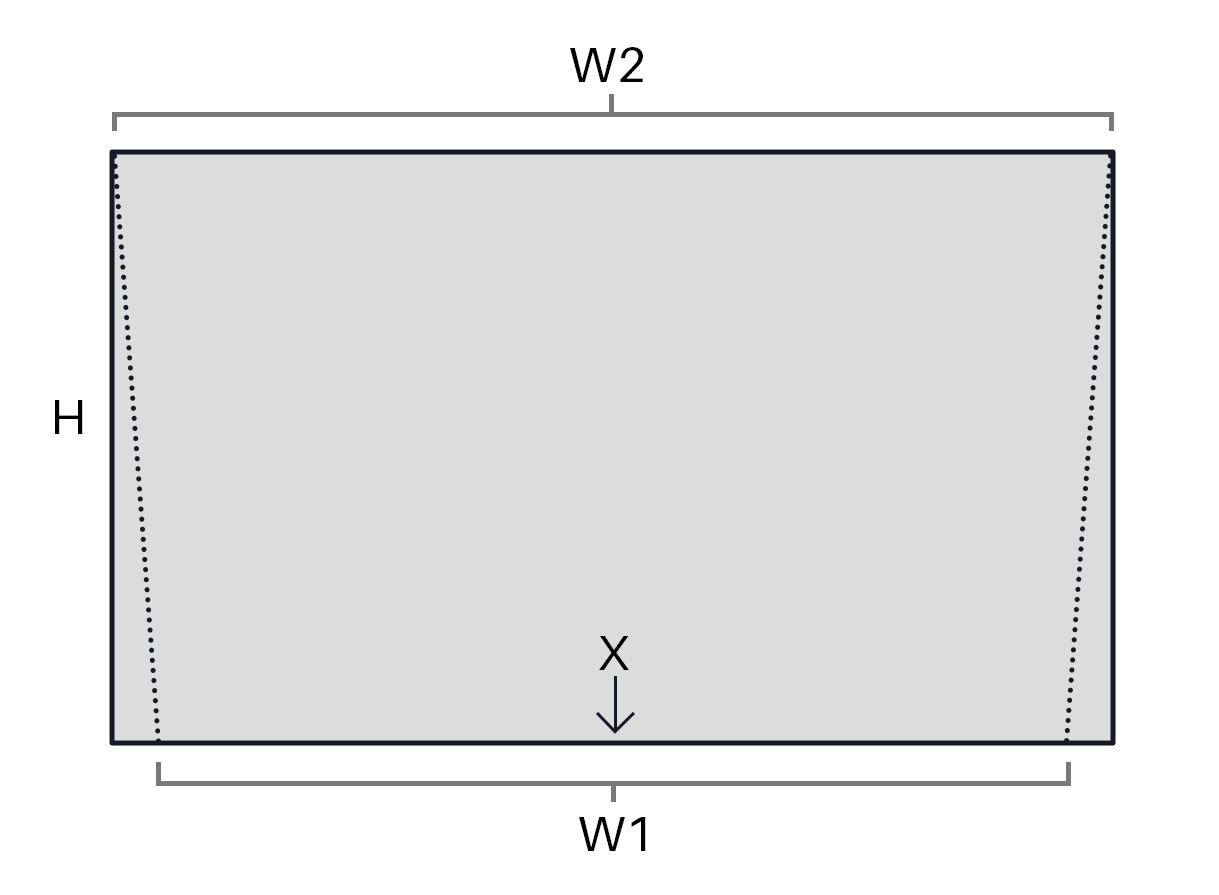 IKEA Gjora Bed Hack Headboard Diagram