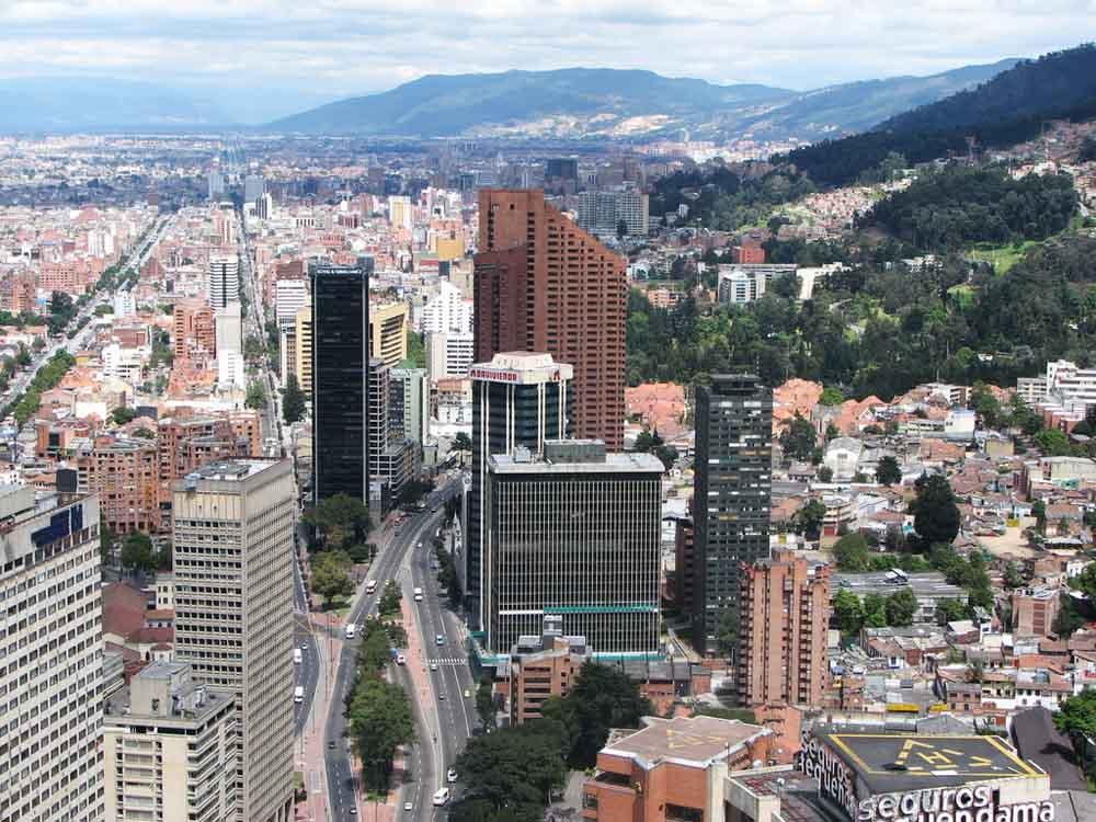 BOGOTA, LA CAPITAL DE COLOMBIA