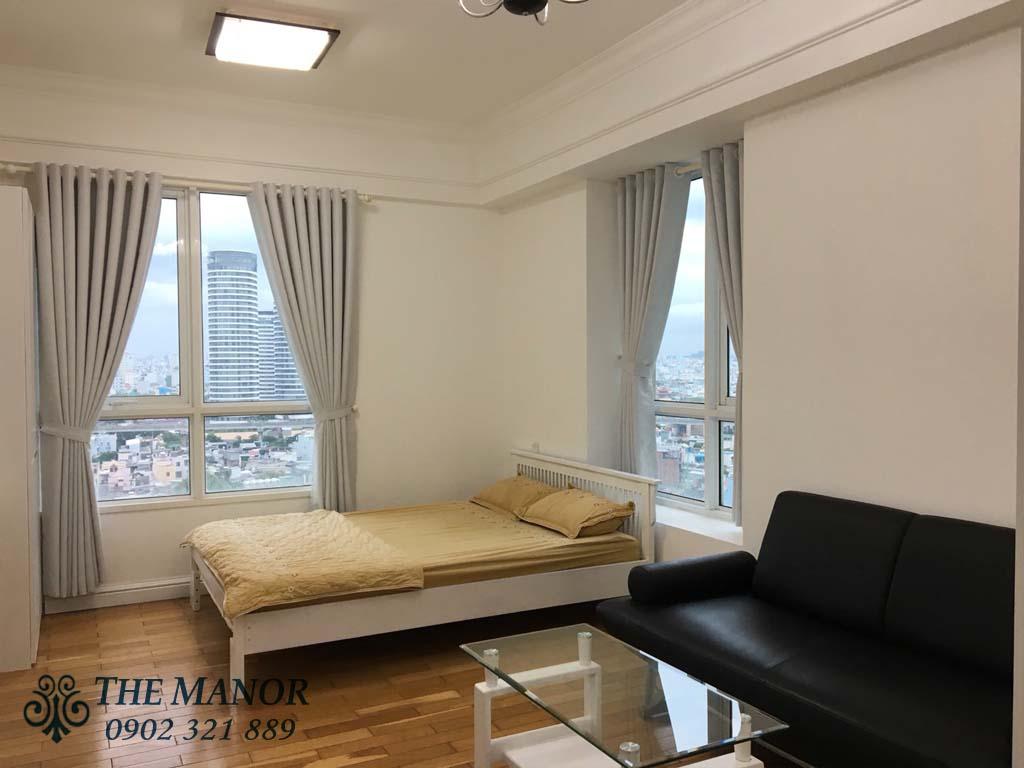 The Manor cho thuê Studio 32m2 căn góc view đẹp - hình 1