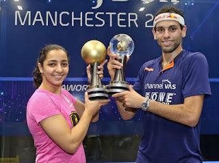 SQUASH - Los egipcios Raneem El-Weleily y Mohamed El Shorgaby sorprenden al mundo del squash en el Mundial de Manchester