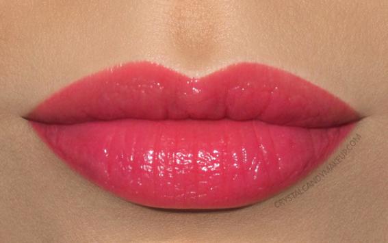 Giorgio Armani Ecstasy Shine Lipstick 500 Crescendo Swatch