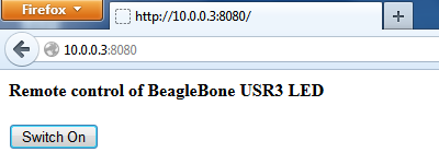 Embedded Experience: WebSocket experimentation with BeagleBone