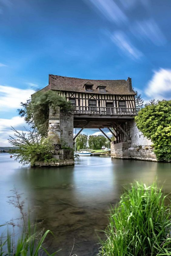 Mezzanine Finance - The 16th century mill of Vernon in Normandy, France