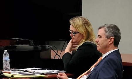 The Woman On Trial For Kidnapping Her Husbands Alleged Mistress Forced Him To Get A Tattoo Of Her Name Above His Crotch As Punishment For His Infidelity