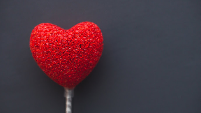 Wallpaper: Big Heart for Valentines Day