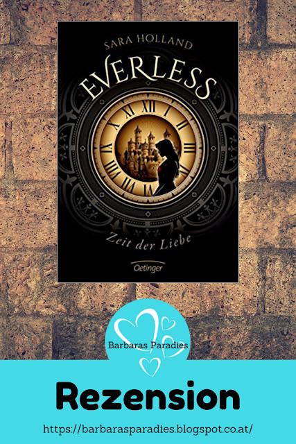 Buchrezension #258 Everless 1 - Zeit der Liebe von Sara Holland