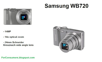 Samsung WB720 compact digital camera