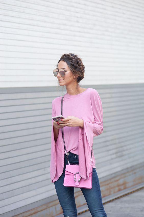 Pink Suede Gucci Dionysus Bag