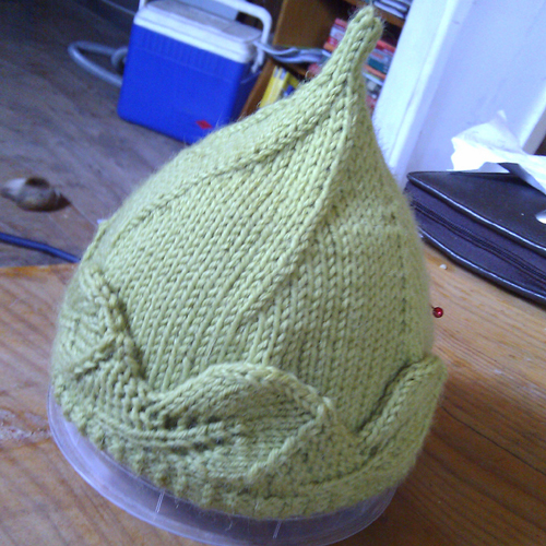 Woodland Elf Hat - Free Pattern