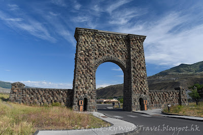 黃石國家公園, Gardiner , yellowstone national park, 羅斯福拱門, Roosevelt Arch