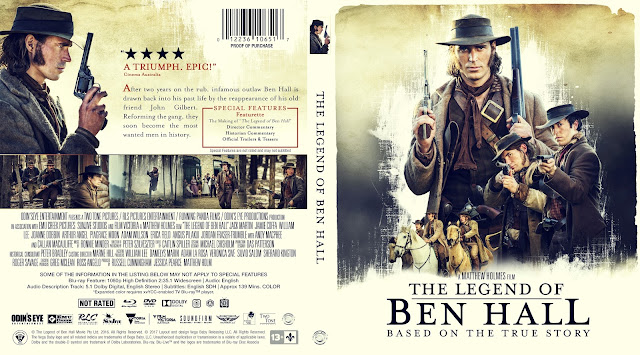 The Legend of Ben Hall Bluray Cover