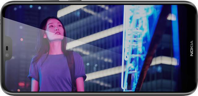 ภาพถ่าย Nokia 6.1 Plus สมาร์ทโฟนราคาไม่ถึงหมื่น