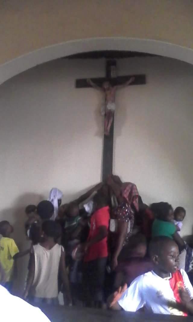 bleeding cross of jesus benue state