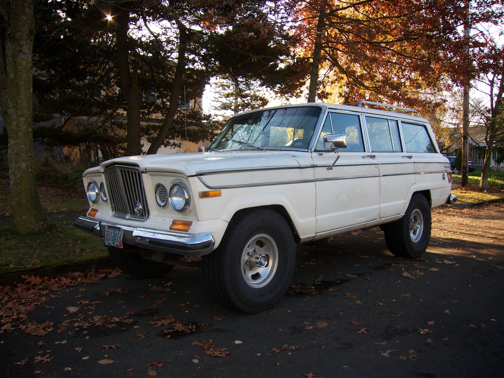 Jeep Grand Wagoneer For Sale >> THE STREET PEEP: 1964 Jeep Wagoneer