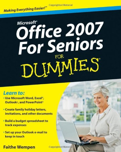 Microsoft office 2007 for seniors for dummies pdf total for For dummies template book cover