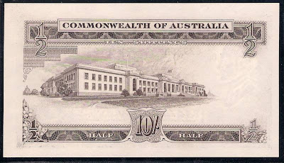 Australian banknotes 10 shillings note 1961 Reserve Bank of Australia