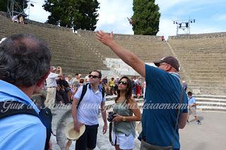 turismo pompei grafica - Turismo na Itália