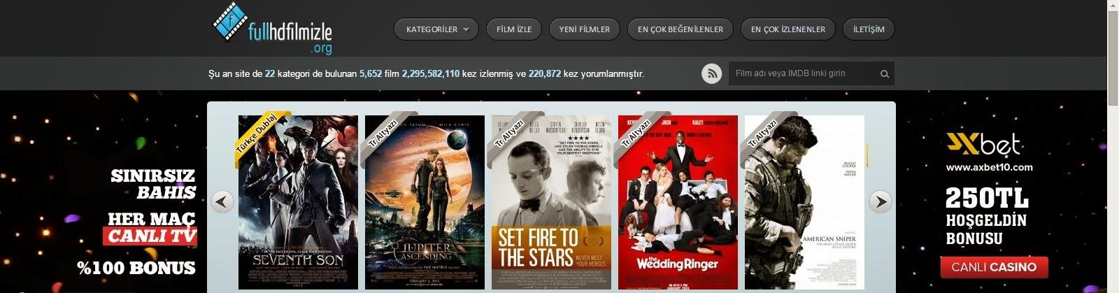 WordPress FullHDFilmİzle Teması
