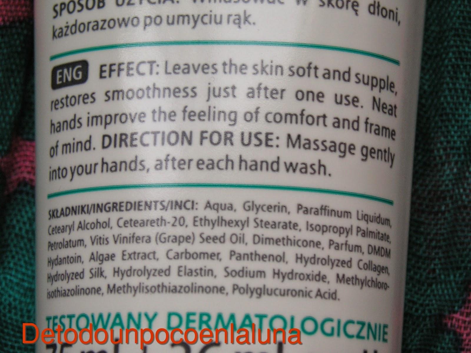 ingredientes y modo de uso crema de manos grazja