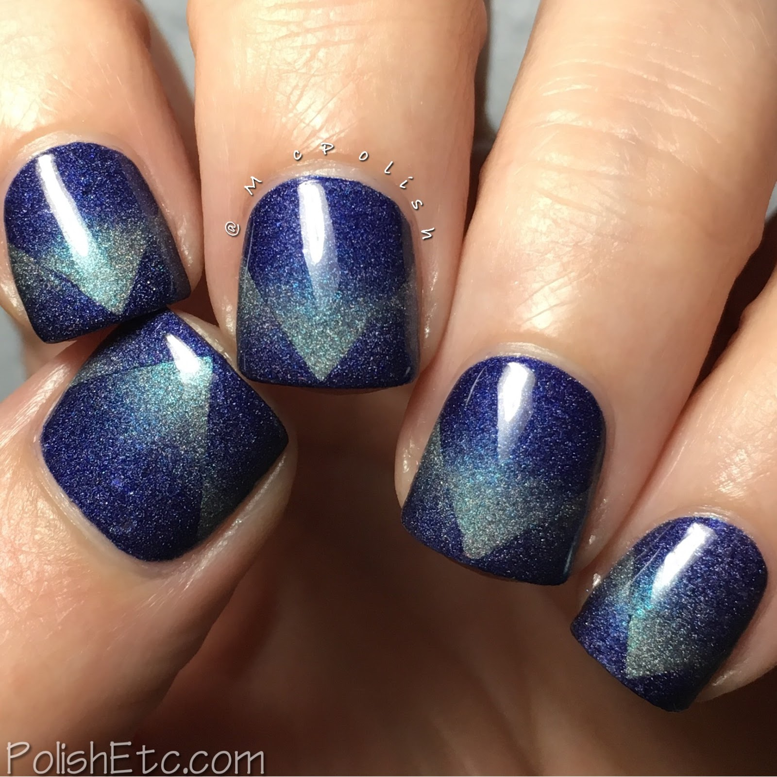 Gradient Nails with AEngland Polishes for the #31DC2017Weekly - McPolish