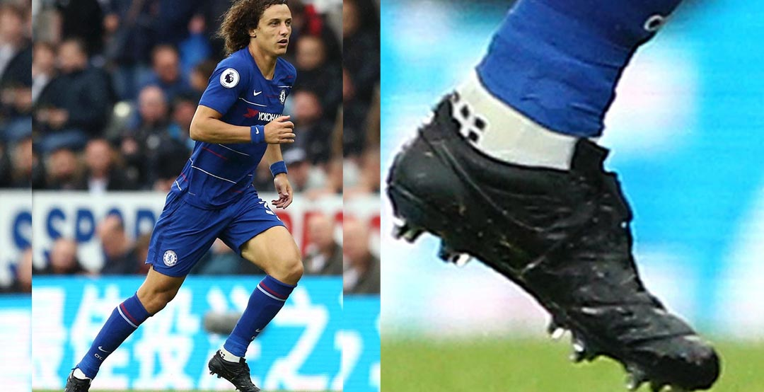 new concept e0844 271e6 Update  David Luiz has blacked-out his Nike Premier II football boots,  suggesting that his contact with Nike has finished. It will be interesting  to watch ...
