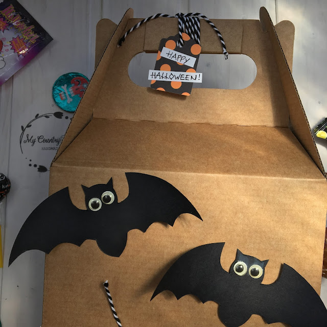 diy halloween candy box selfpackaging