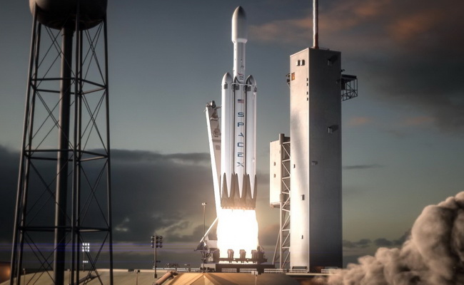 Tinuku SpaceX's Falcon Heavy rocket will load Tesla Roadster