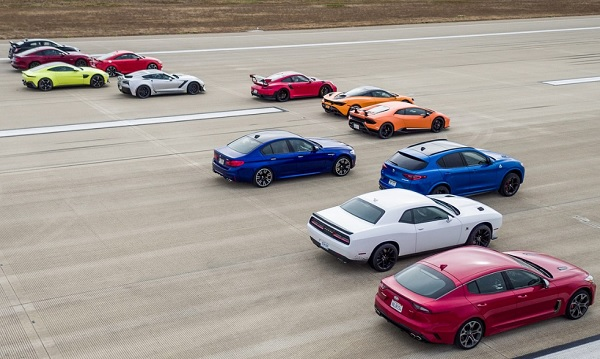 Mejor Carrera Drag del Mundo Motor Trend