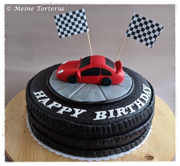Q Birthday Cake
