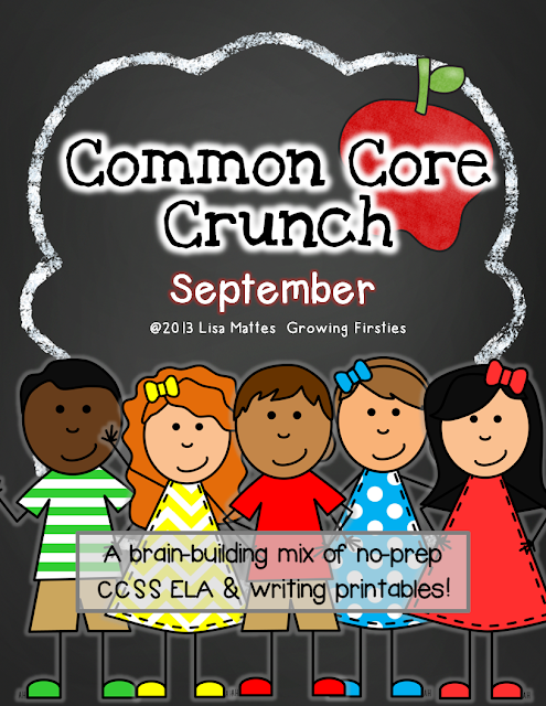 Common Core Crunch - Growing Firsties