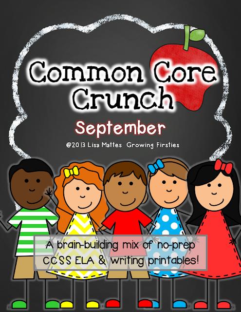 Common Core Crunch - Growing Firsties