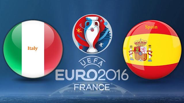 LIVE SCORE EURO: Hasil Italia vs Spanyol Prediksi Skor dan Jadwal Piala Eropa 2016 di TV Online RCTI Live Streaming EURO 2016