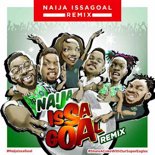 Naira Marley Ft Olamide, Falz ,Lil Kesh , Simi , Slimcase - Naija Is s A Goal.(Remix)
