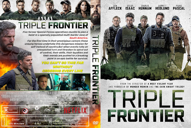 Triple Frontier DVD Cover