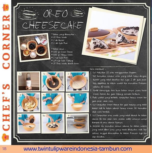 Chef's Corner : Resep Oreo Cheese Cake