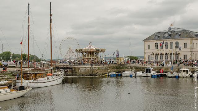 Honfleur viaje Normandia ciudad mas bonita puerto turismo que ver