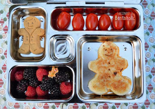 Grilled Cheese Gingerbread Man     ~      Becoming A Bentoholic