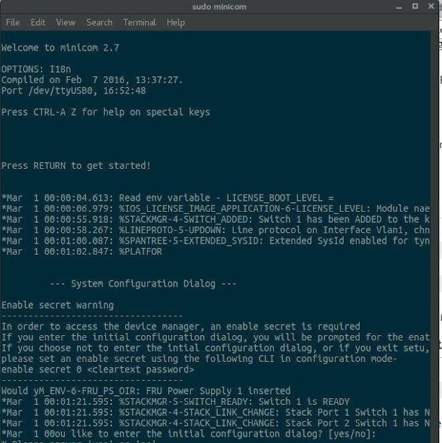 linux-minicom