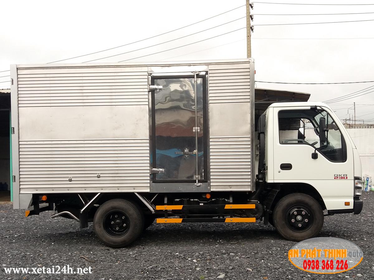Xe tải ISUZU QKR77FE4 tải trọng 1T5 - 2T - 2T5 thùng dài 3m6