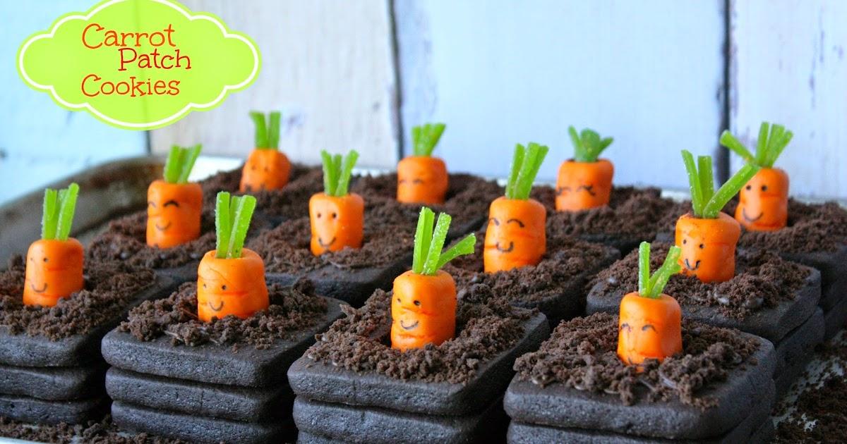 Munchkin Munchies: 3-D Carrot Patch Cookies