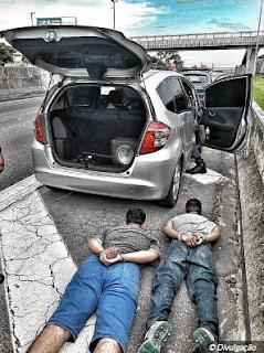 Guarda Municipal de Jundiaí prende dupla por furtos de estepe