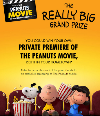 Win The Peanuts Movie Premiere