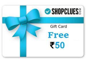 Shopclues Rs 50 Cluebucks Offer