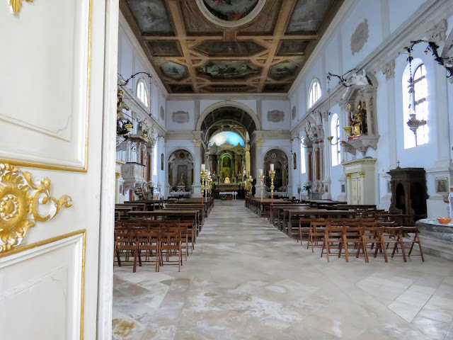 Inside Piran Cathedral