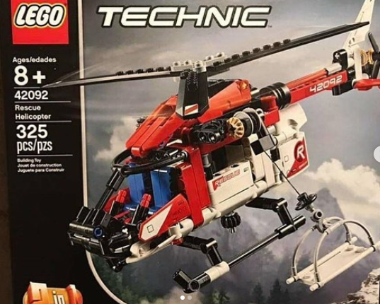anj 39 s brick blog lego technic 2019 rescue helicopter. Black Bedroom Furniture Sets. Home Design Ideas