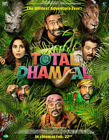 Total Dhamaal (2019) Hindi PROPER 720p WEB-DL 1GB ESubs