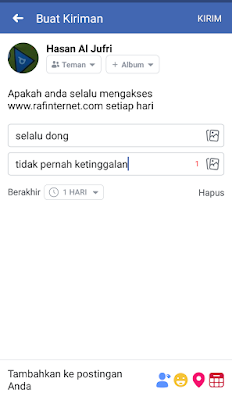 Cara mudah buat survey polling dan jejak pendapat di Facebook