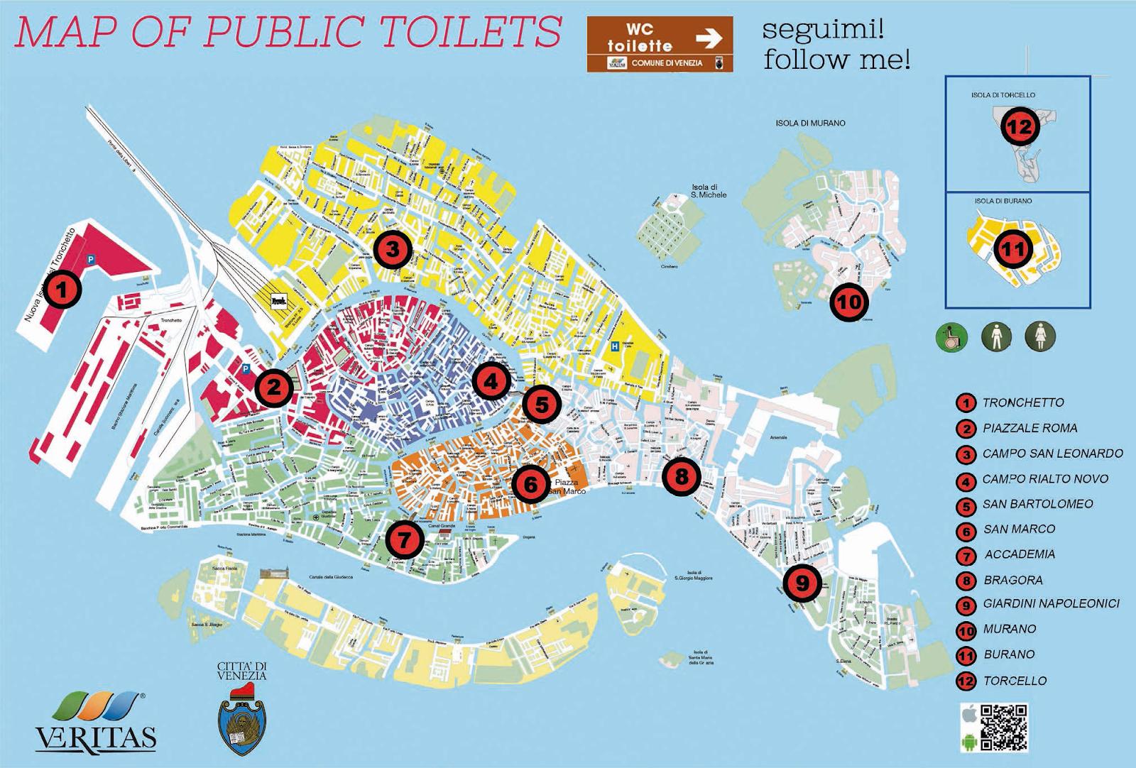 Toilettes Publiques A Venise J Aime Venise