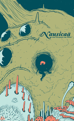 Ghibli Fan Posters: Nausicaa of the Valley of Wind, Porco Rosso