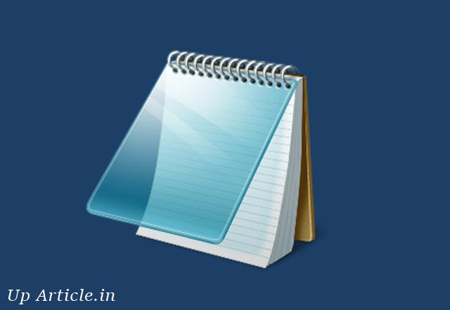 Notepad in Hindi